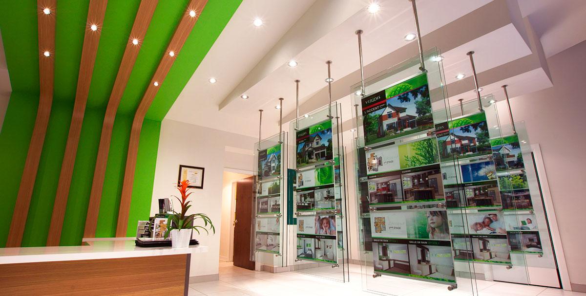 bureau de vente habitat veridis tla architecture. Black Bedroom Furniture Sets. Home Design Ideas