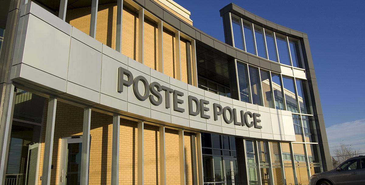 Poste de police blainville tla architecture for Architecture poste a poste