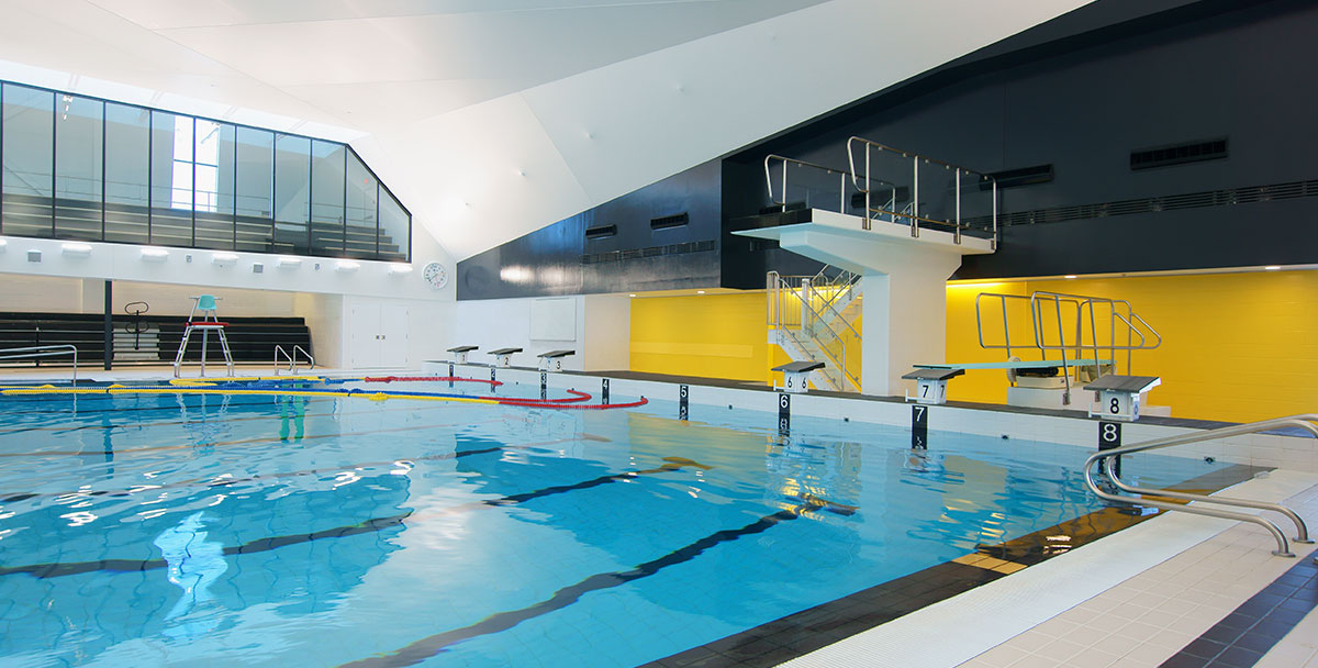 Centre aquatique desjardins tla architecture for Piscine breteuil